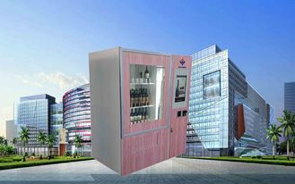 China CE FCC Winnsen Wine Vending Machine For Shopping Mall With Credit Card Reader Payment fábrica