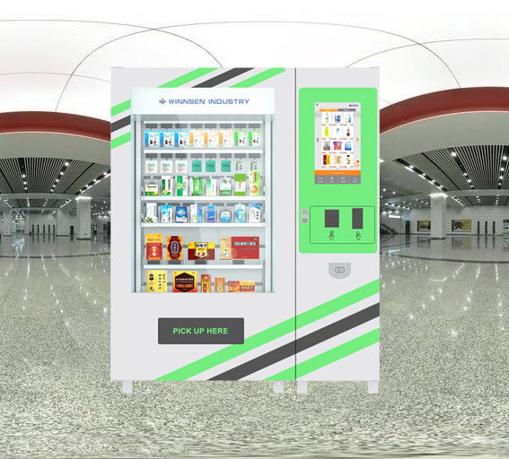 Winnsen Credit Card Payment Pharmacy Vending Machine Business With Elevator And Cooling Unit