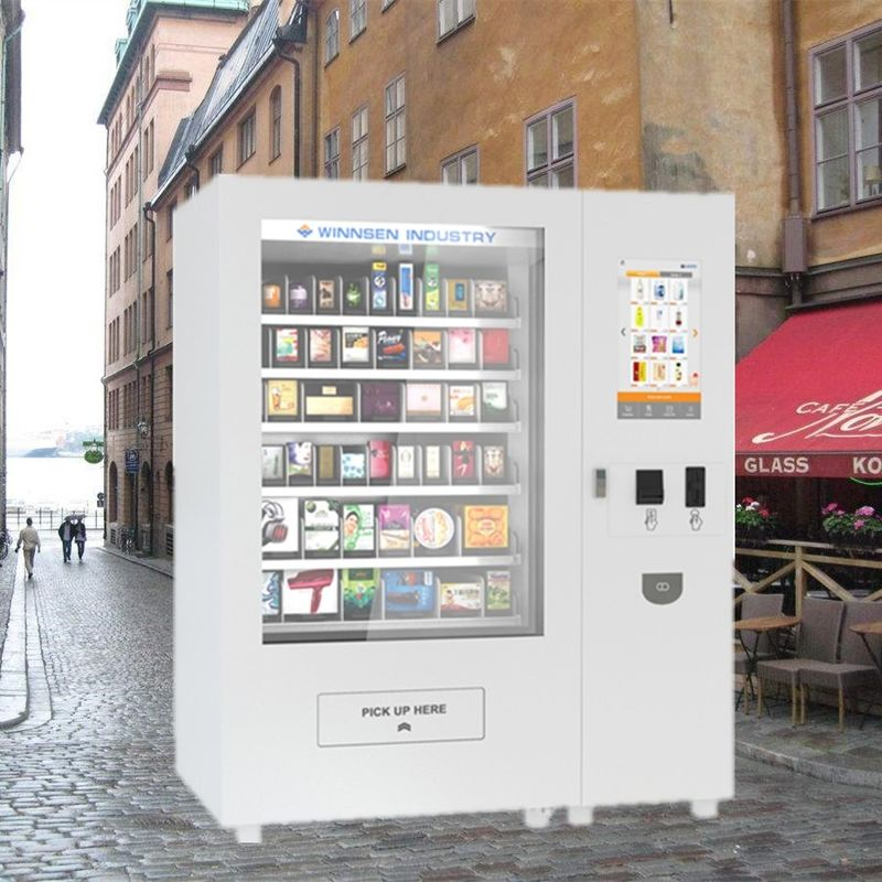 Custom Coin Operated Snack And Drink Vending Machines For Beverage Bottled Water